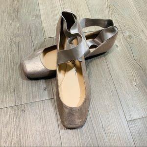 Jessica Simpson blush ballet flats